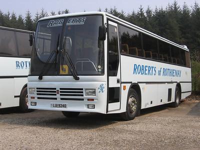 Roberts Rothiemay LIU9240 Depot Rothiemay May 06
