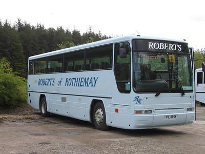 Roberts Rothiemay VIL4844 Depot Rothiemay May 05