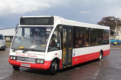 Deveron Macduff MX06ABV Elgin Bus Station Aug 17