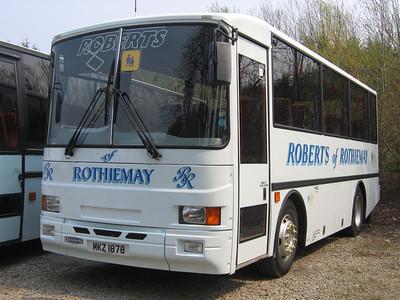 Roberts Rothiemay MKZ1878 Depot Rothiemay May 06