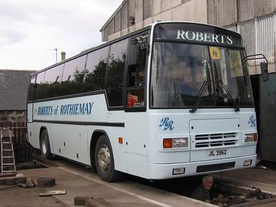 Roberts Rothiemay JIL3962 Depot Rothiemay May 05