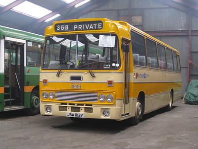 Preserved JSA102V Buckie Depot May 08
