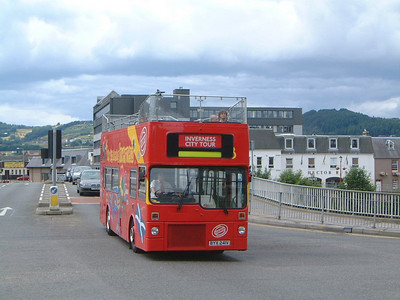 City Sightseeing_Fawcett Invss BYX241V Ness Bridge, Invss  Jul 03