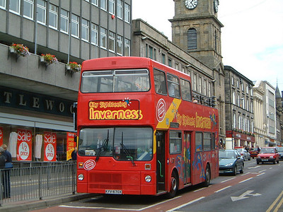 City Sightseeing_Fawcett Invss KYV470X Bridge St , Invss  2 Jul 03