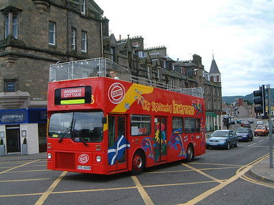 City Sightseeing_Fawcett Invss GYE420W Young St , Invss  Jul 03