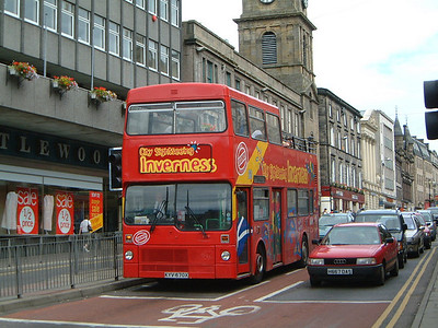 City Sightseeing_Fawcett Invss KYV470X Bridge St , Invss  1 Jul 03