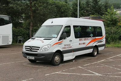 Awe Service Station SN62ATO An Aird Coach Park Fort William Jul 14