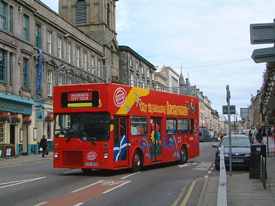 City Sightseeing_Fawcett Invss GYE420W Bridge St , Invss  2 Jul 03