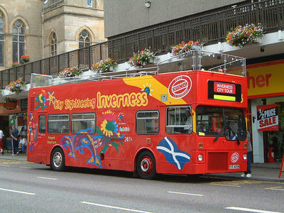 City Sightseeing_Fawcett Invss GYE420W Bridge St , Invss 1  Jul 03