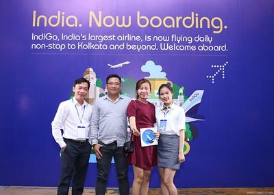 IndiGo | New routes to Vietnam Launching Event @ Vinpearl Luxury Landmark 81 | Chụp ảnh in hình lấy liền tại TP. Hồ Chí Minh | Photobooth Saigon