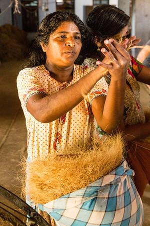 Coconut Mat Factory Kerala