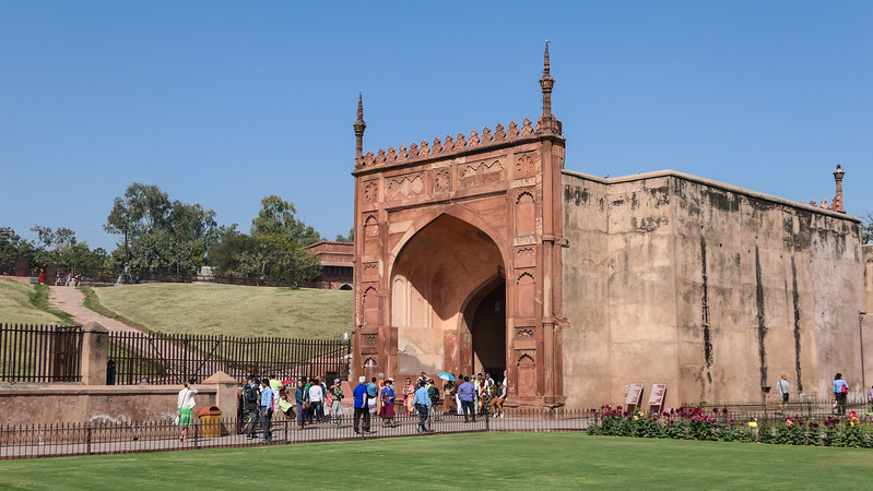 Visiting Agra Fort