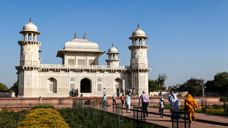 Visiting the Baby Taj in Agra