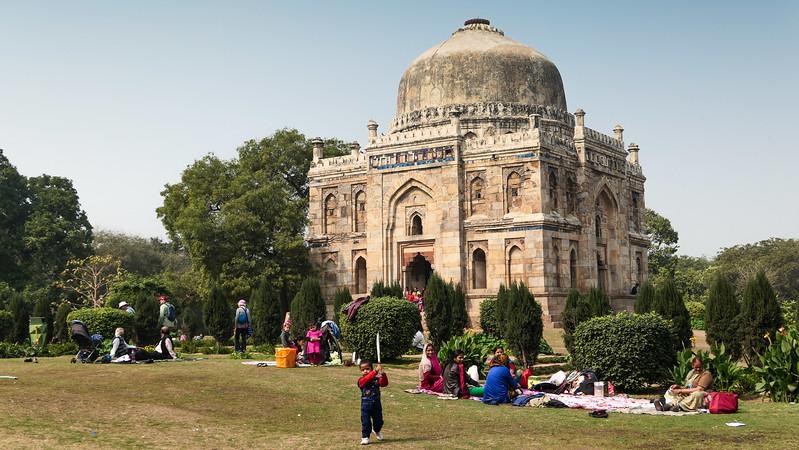 The Lodhi Gardens in Delhi