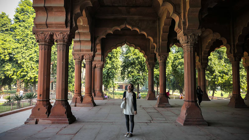 Delhi was the first stop on our India travel itinerary.