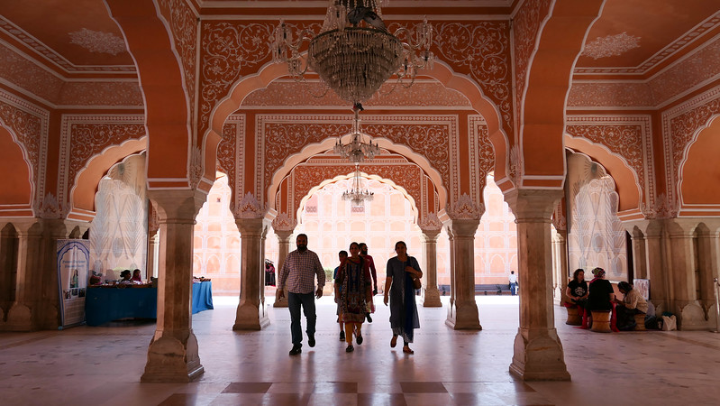 Seeing Pink in Jaipur.