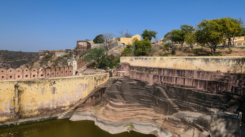 One of the stepwells in the outskirts of Jaipur.