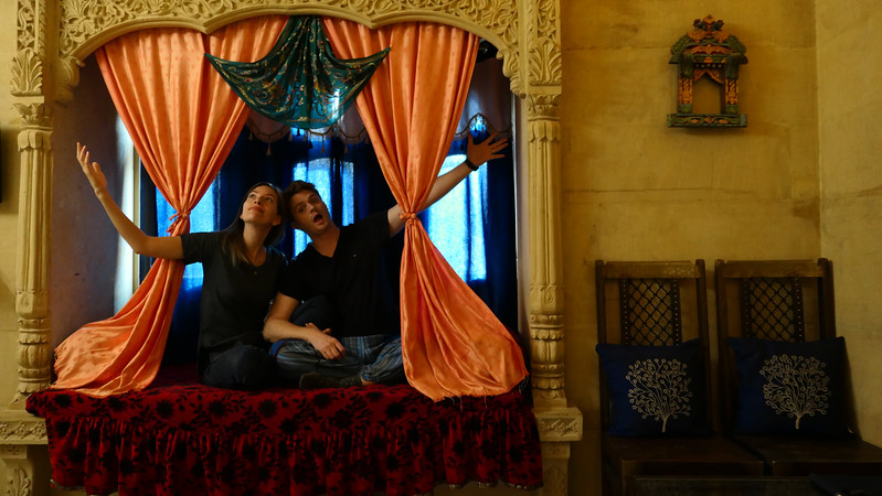 Staying in a haveli in Jaisalmer: Tokyo Palace Hotel