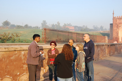 285 - The Agra Fort with Tushar