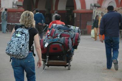 262 1 - At the Jhansi train station
