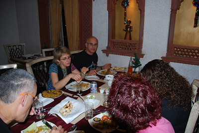 271 - The restaurant in Agra hotel