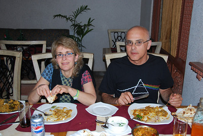 272 - The restaurant in Agra hotel