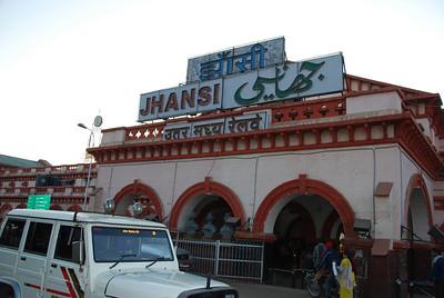 262 - Jhansi station