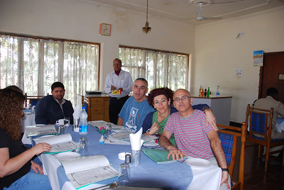 259 - In the restaurant on the way to Jhansi