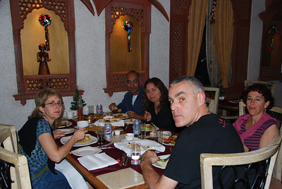 270 - The restaurant in Agra hotel
