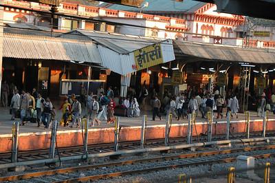 264 1 - At the Jhansi train station