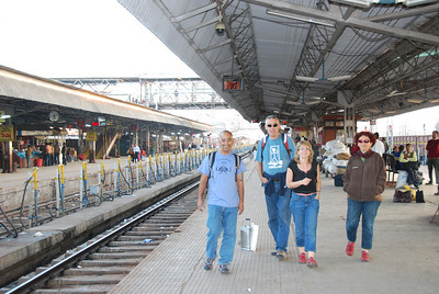 266 - At the Jhansi train station