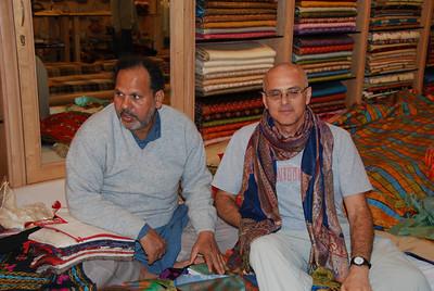 117 - Varanasi, Yair with a scarf