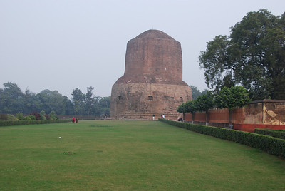 037 - The Stupa in Sarnath