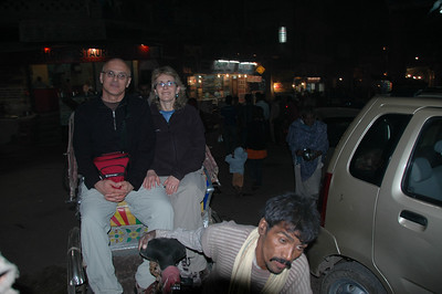 067 1 - Varanasi, the riksha ride