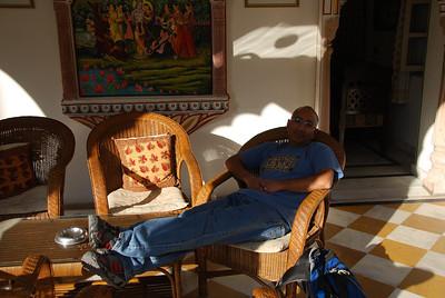 368 - Jaipur, Alsisar Haveli hotel
