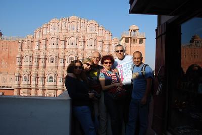 376 - Jaipur, Hawa Mahal, the Wind Palace