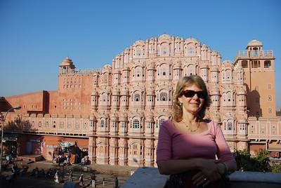 373 - Jaipur, Hawa Mahal, the Wind Palace