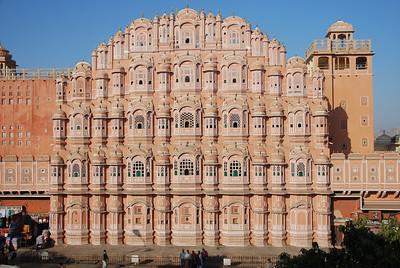 370 - Jaipur, Hawa Mahal, the Wind Palace