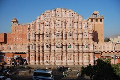 371 - Jaipur, Hawa Mahal, the Wind Palace