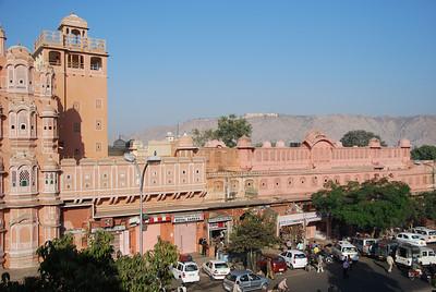 372 - Jaipur, Hawa Mahal, the Wind Palace