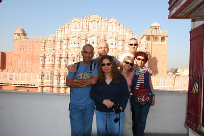 377 - Jaipur, Hawa Mahal, the Wind Palace