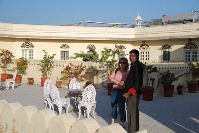 362 - Jaipur, Alsisar Haveli hotel