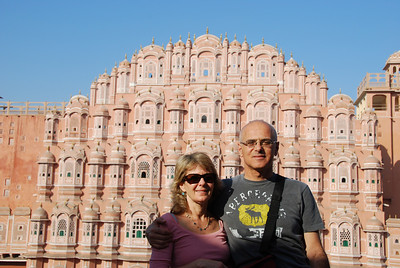 374 - Jaipur, Hawa Mahal, the Wind Palace