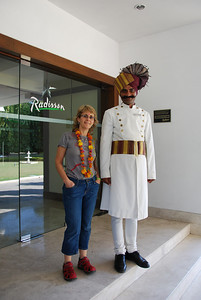 148 - Khajuraho, hotel Radisson