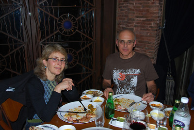 012 - Delhi, Dinner at the Dadisson