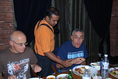 013 - Delhi, Dinner at the Dadisson