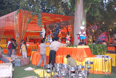 009 - Delhi, preparations for a wedding