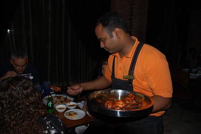 011 - Delhi, Dinner at the Dadisson