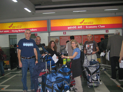 013 1 - Delhi airport before the flight to Varanasi