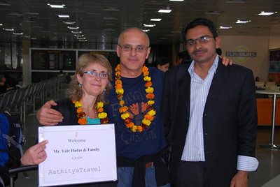 004 - Arriving in Delhi, with Udai